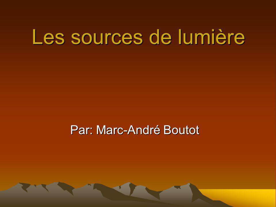 Introduction Dans ce projet je vais vous parlez des sources de lumière.