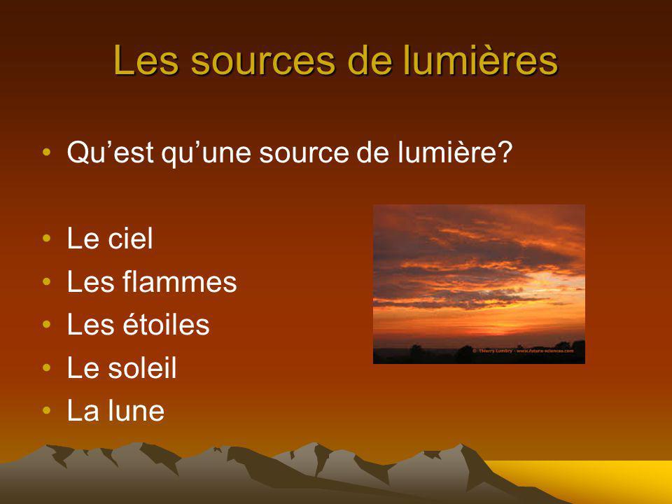 La sources dincandescence La sources dincandescence est une lumière visible par un objet chauffé.