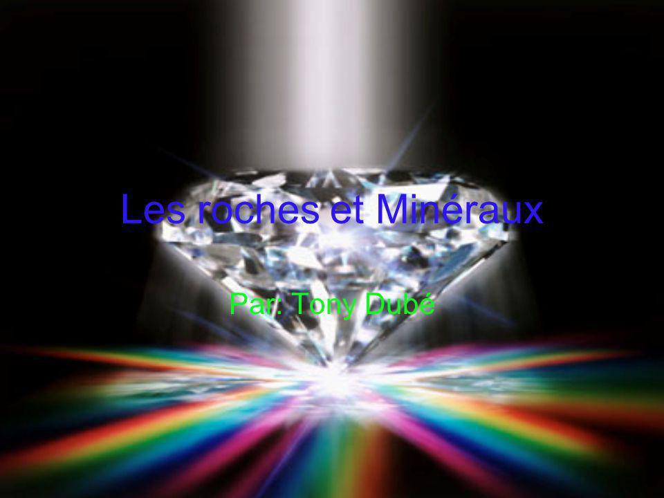 Les roches et Minéraux Par: Tony Dubé