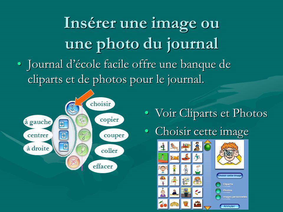 Insérer une image ou une photo du journal Journal décole facile offre une banque de cliparts et de photos pour le journal.Journal décole facile offre une banque de cliparts et de photos pour le journal.