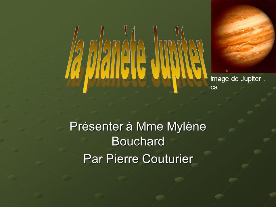 Présenter à Mme Mylène Bouchard Par Pierre Couturier image de Jupiter. ca