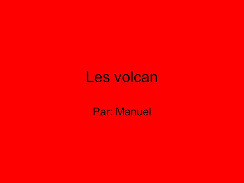 Introduction Je vais vous parler des volcan etc...