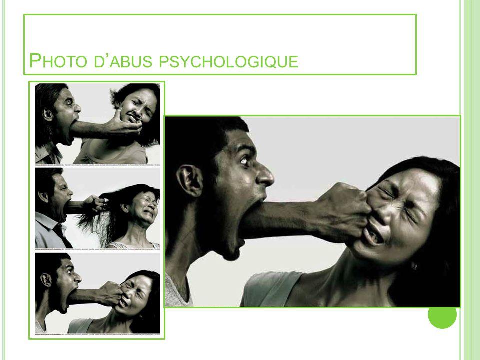 P HOTO D ABUS PSYCHOLOGIQUE