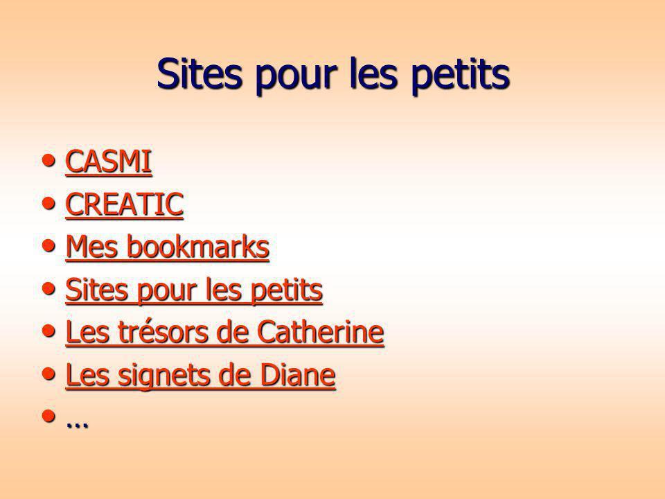 Sites pour les petits CASMI CASMI CASMI CREATIC CREATIC CREATIC Mes bookmarks Mes bookmarks Mes bookmarks Mes bookmarks Sites pour les petits Sites po