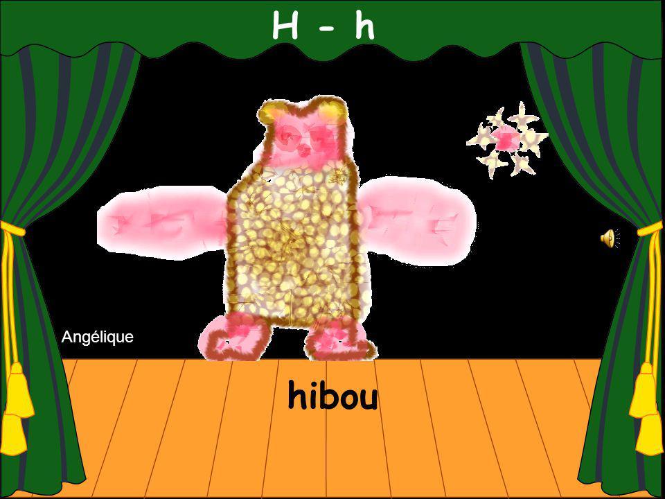 H - h hibou Angélique
