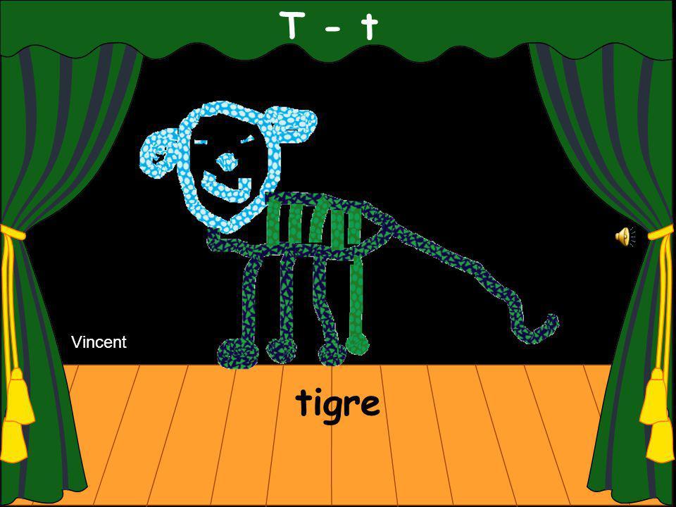 T - t tigre Vincent