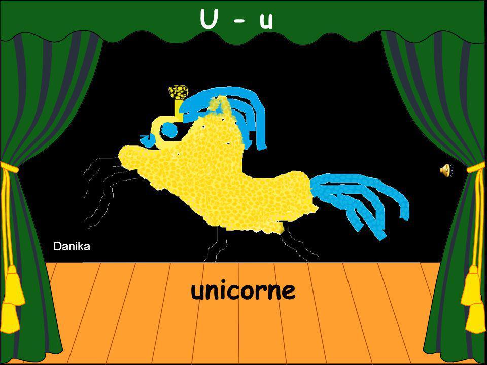 U - u unicorne Danika