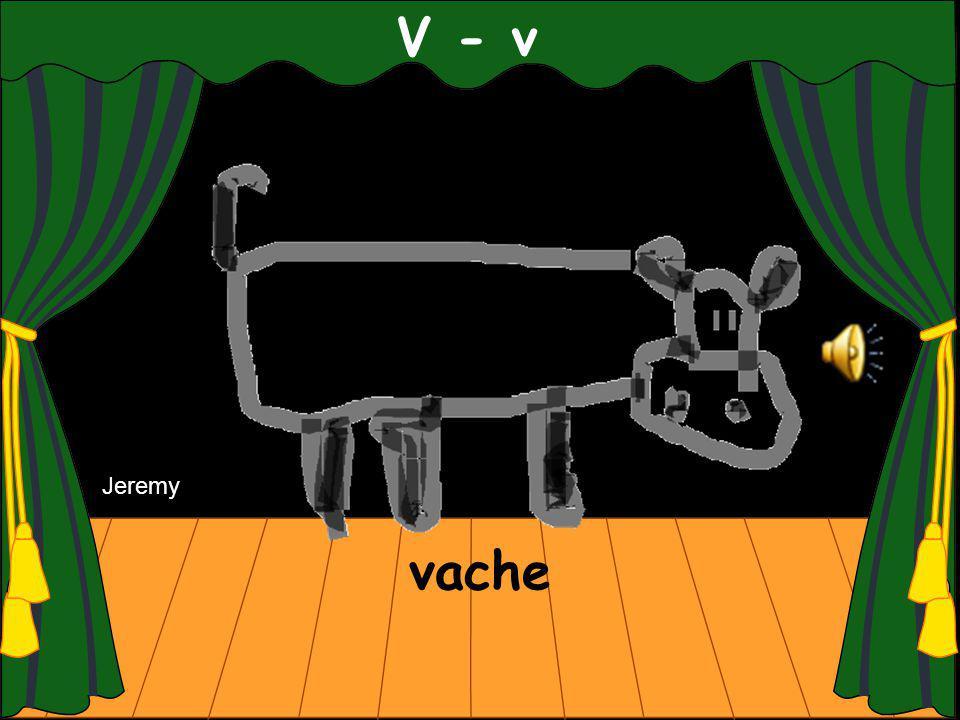 vache V - v Jeremy