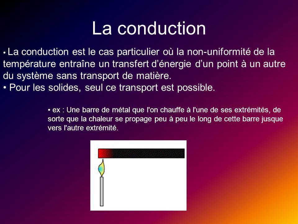 Réferences Convection : http://www.iut-lannion.fr/LEMEN/Mpdoc/Cmther/thcincv.htm http://fr.wikipedia.org/wiki/Convection Rayonnement: http://www.ens-lyon.fr/Planet- Terre/Infosciences/Climats/Rayonnement/Cours/intro.htm http://fr.wikipedia.org/wiki/Rayonnement Conduction : http://www.sciences.univ- nantes.fr/physique/perso/blanquet/conducti/11intro/11intro.htm http://fr.wikipedia.org/wiki/Conduction_thermique http://www.meteofrance.com/FR/glossaire/designation/616_curie ux_view.jsp