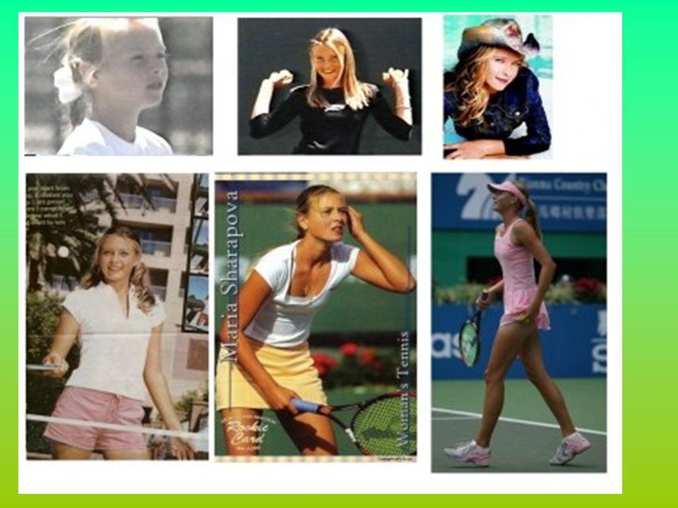 RÉFÉRENCE : http://teemix.aufeminin.com/w/star/b2050/biographie/Maria-Sharapova.html www.google.com http://fr.wikipedia.org/wiki/Maria_Sharapova#Biographie