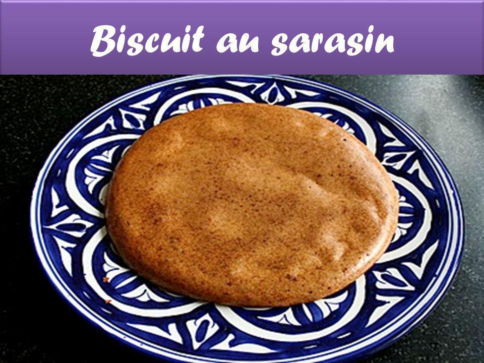 Biscuit au sarasin