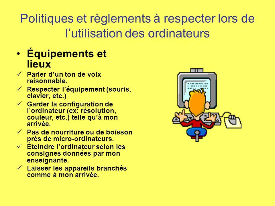 Gestion de classe Nos affiches de règlements et politiques Réalisé par: Normand Théroux et Stéphanie Thériault