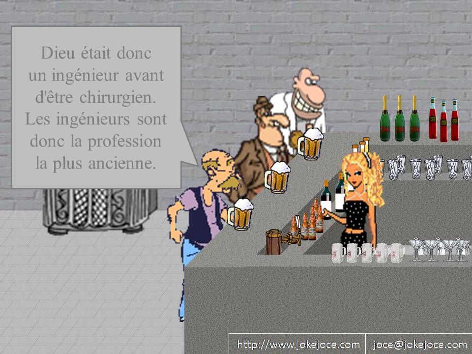 Dieu était donc un ingénieur avant d être chirurgien.