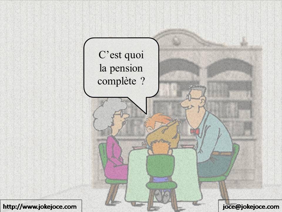Cest quoi la pension complète ?