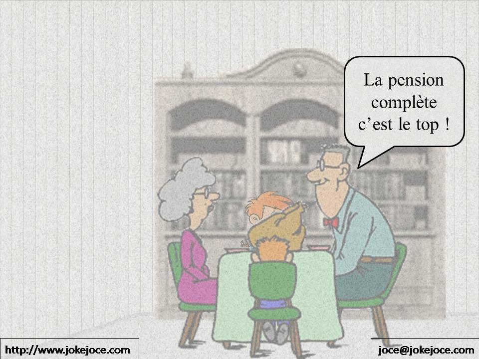 La pension complète cest le top !