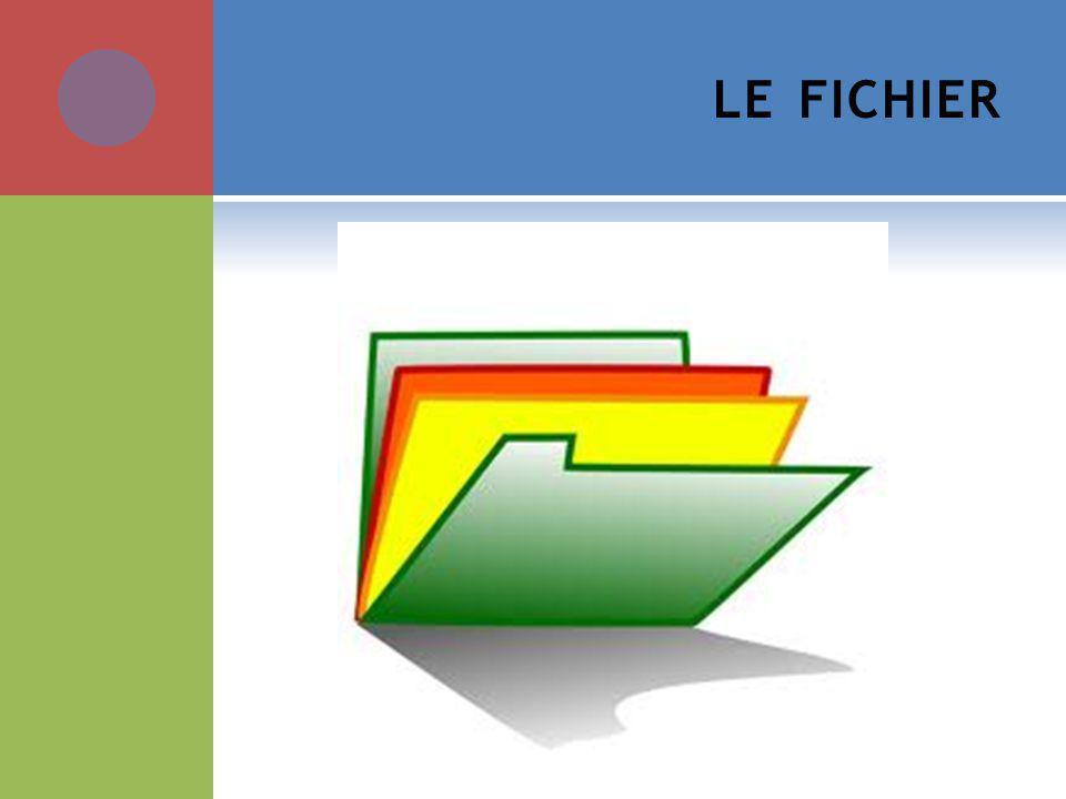 LE FICHIER