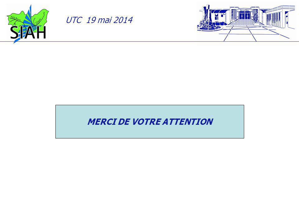 UTC 19 mai 2014 MERCI DE VOTRE ATTENTION