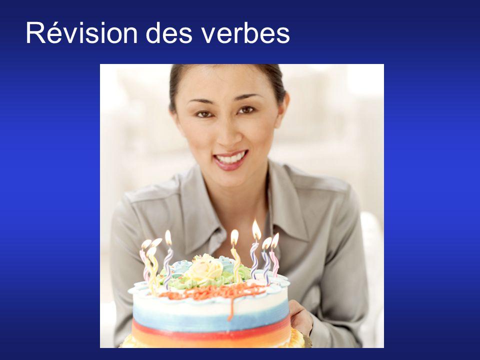 Révision des verbes