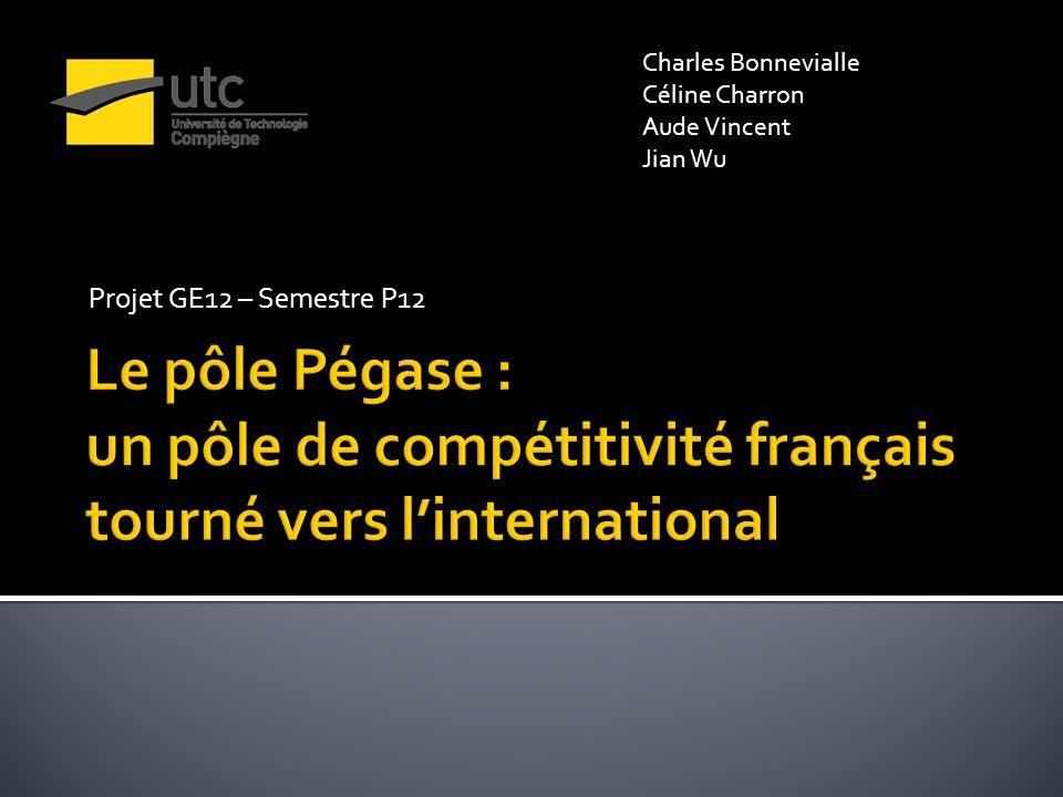 Projet GE12 – Semestre P12 Charles Bonnevialle Céline Charron Aude Vincent Jian Wu