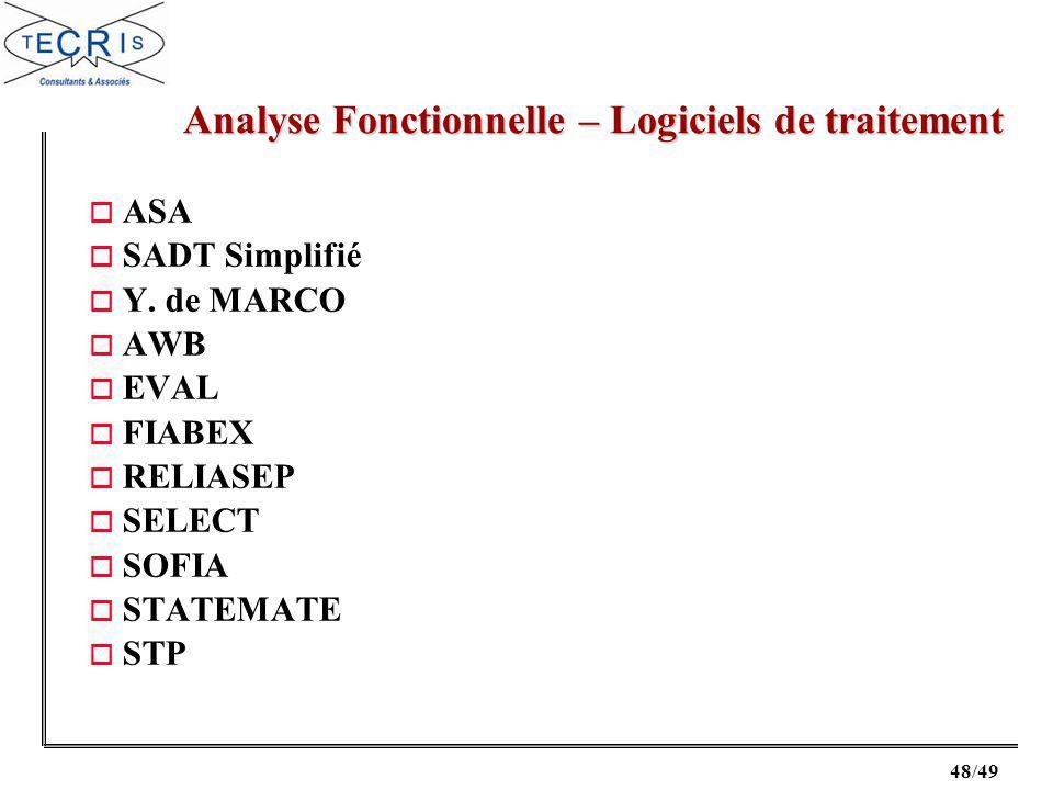 48/49 o ASA o SADT Simplifié o Y.
