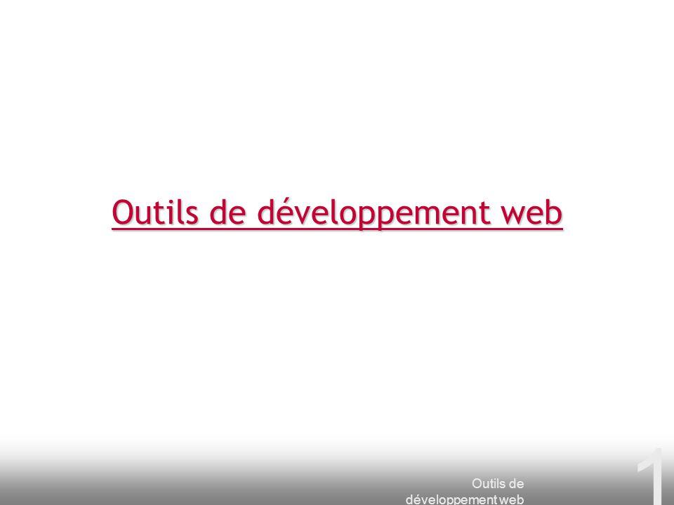 Outils de développement web 1