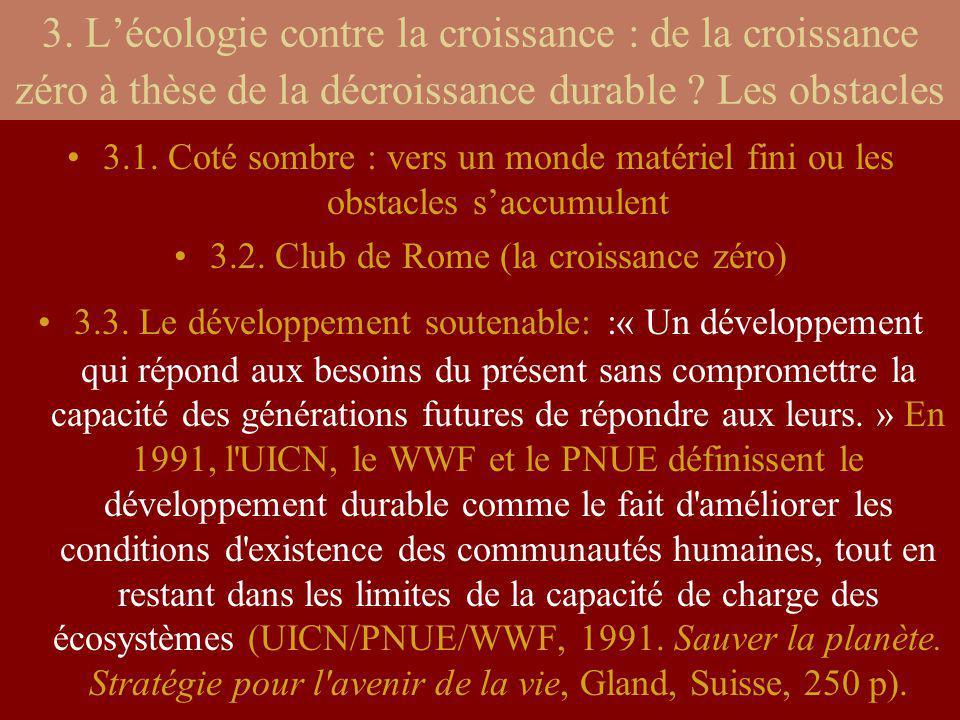 Les externalités : Définition : Voir texte du polycopié pp.