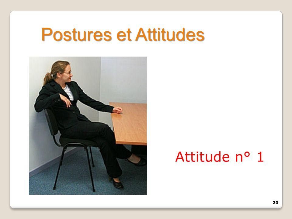 30 Attitude n° 1 Postures et Attitudes