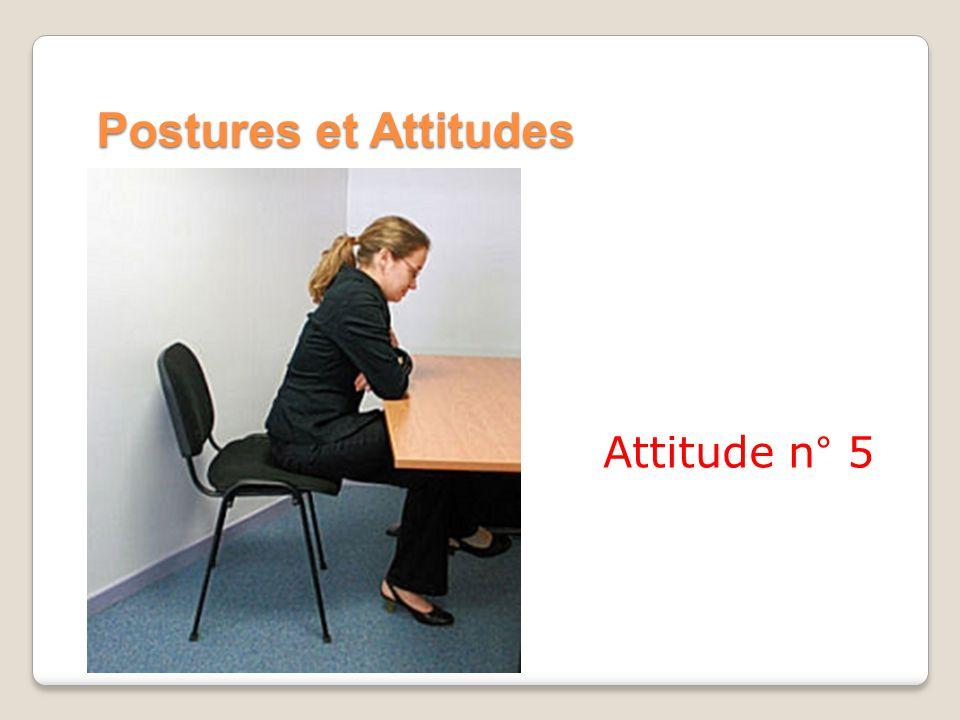 Postures et Attitudes Attitude n° 5