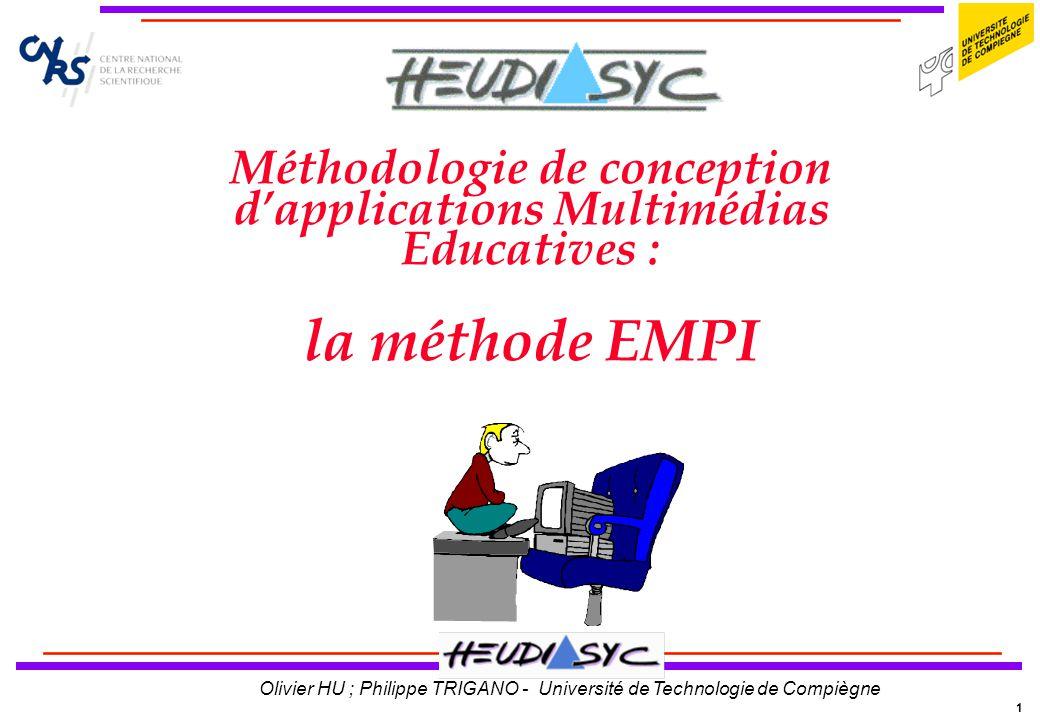 22 Olivier HU ; Philippe TRIGANO - Université de Technologie de Compiègne Notre prototype Proposition de note finale :