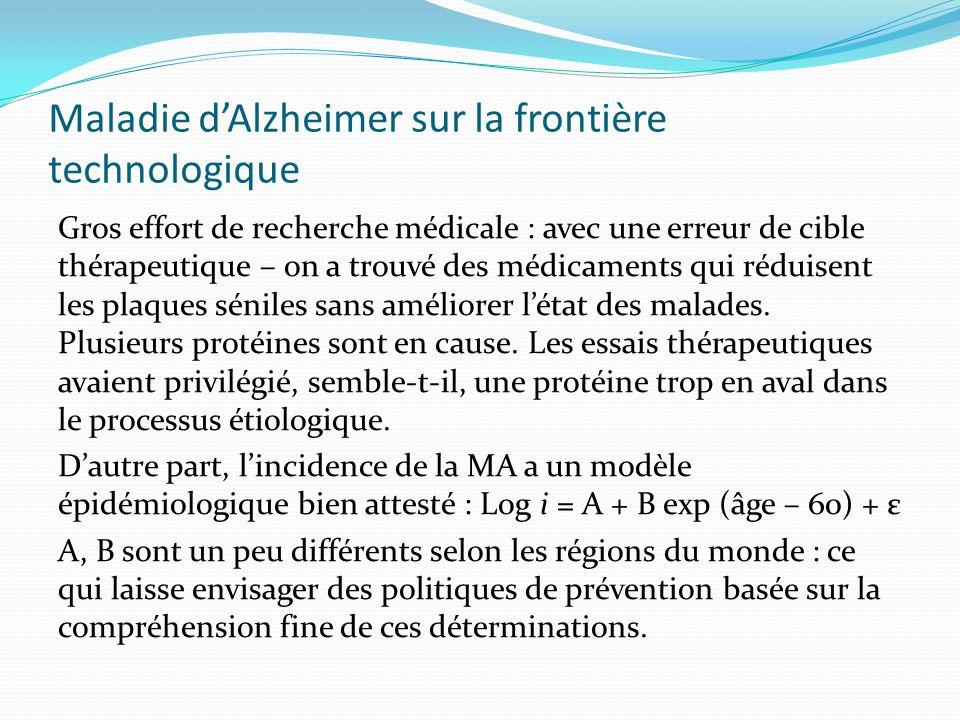 Maladie dAlzheimer sur la frontière technologique Gros effort de recherche médicale : avec une erreur de cible thérapeutique – on a trouvé des médicam