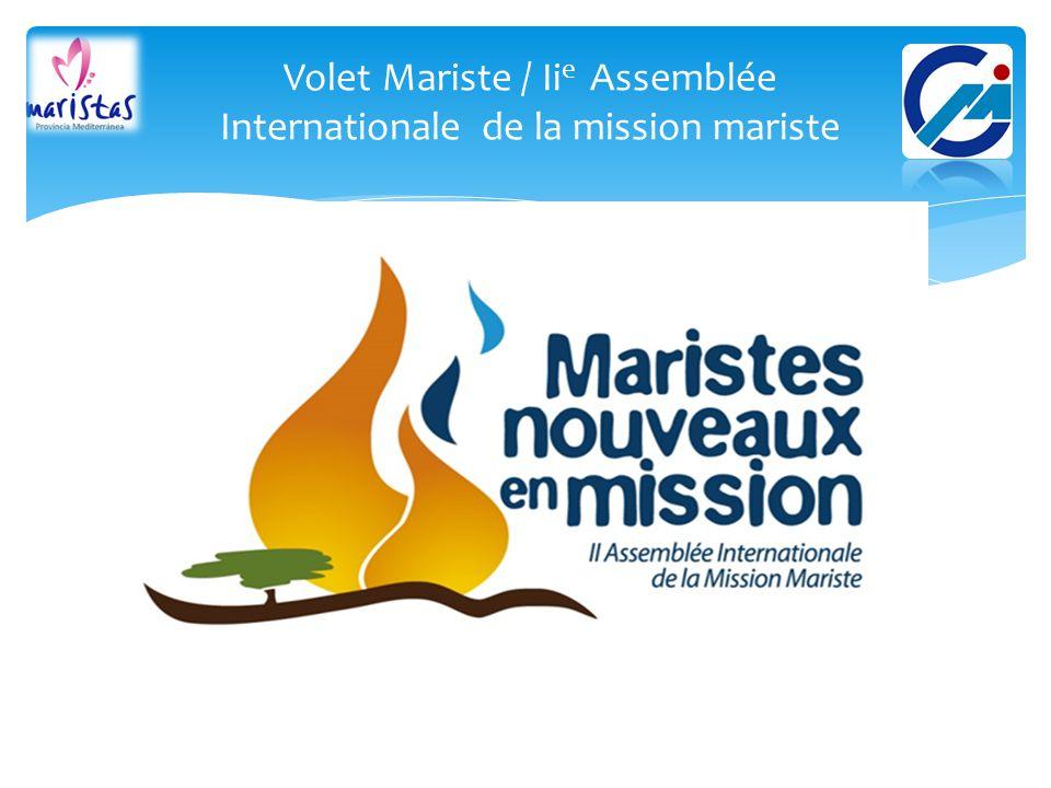 Volet Mariste / Ii e Assemblée Internationale de la mission mariste