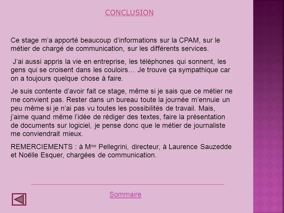 Conclusion Conclusions