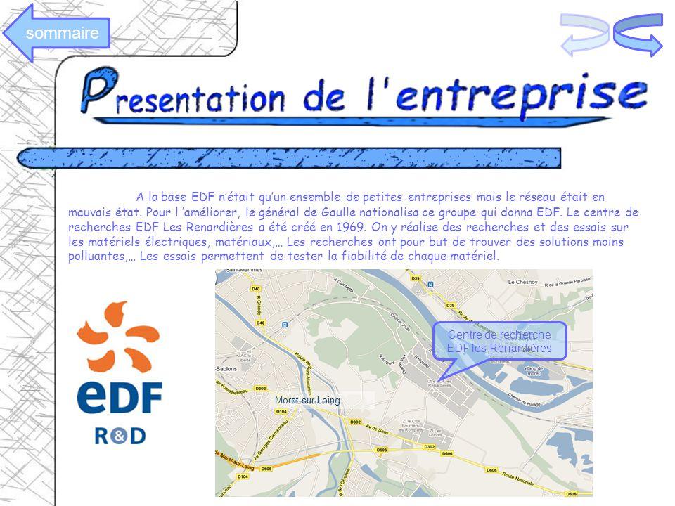 A la base EDF nétait quun ensemble de petites entreprises mais le réseau était en mauvais état. Pour l améliorer, le général de Gaulle nationalisa ce
