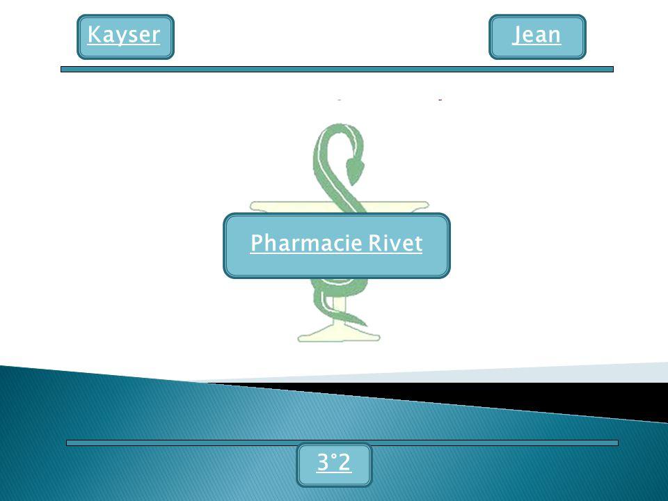 Kayser Pharmacie Rivet Jean 3°2
