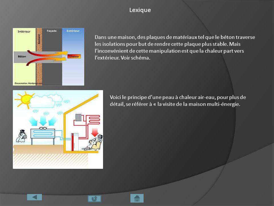 Lexique Dans une maison, des plaques de matériaux tel que le béton traverse les isolations pour but de rendre cette plaque plus stable. Mais linconvén