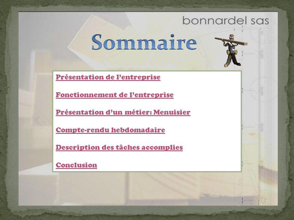 Présentation de lentreprise Menuiserie créée en 1925 à Vulaines-sur-Seine.