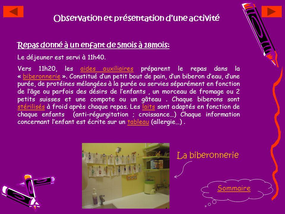 Fonctionnement de lentreprise Sommaire Mme Pugeat Directrice de la Crèche Auxiliaire Puériculture Auxiliaire Puériculture Aide Auxiliaire Puériculture
