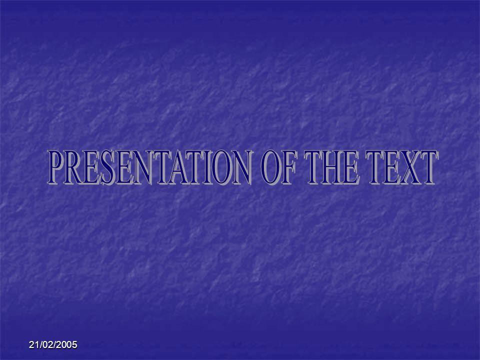 21/02/2005 CE QUIL RESTE A FAIRE Continuer la traduction du texte Continuer à chercher du corpus sur la modélisation et la simulation par ordinateur Envoyer des définitions à lexpert Chercher plus de contextes pour les fiches terminologiques