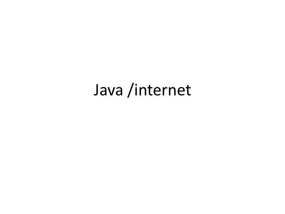 Contenu dynamique servlet Servlet: utiliser la machine virtuelle java du serveur H.