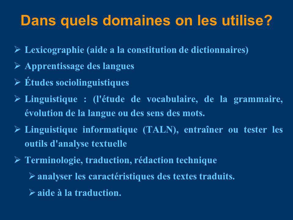 Quel type dannotation . les attributs de formatage : paragraphes, sections, titres, etc.