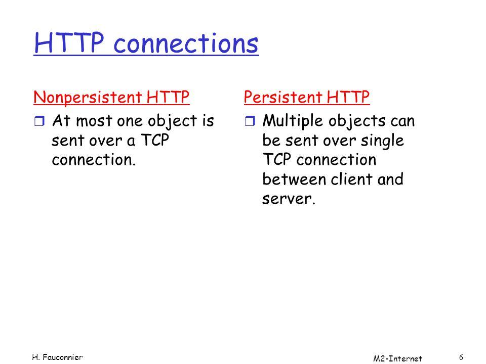M2-Internet 47 Variables r AUTH_TYPE Le type d identification utilisé pour protéger le script (sil est protégé et si le serveur supporte l identification).