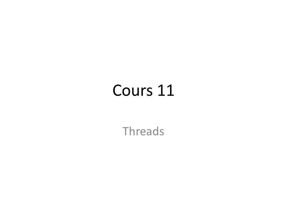 Chapitre X threads