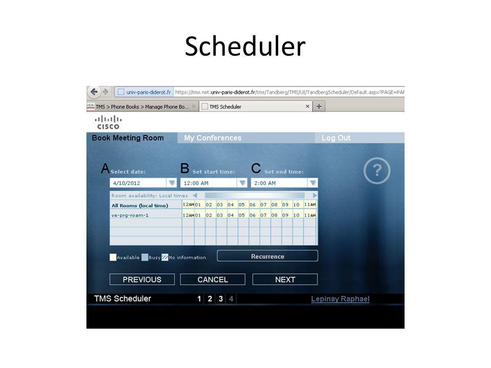 Option denregistrement (on demand) et de stream (live)