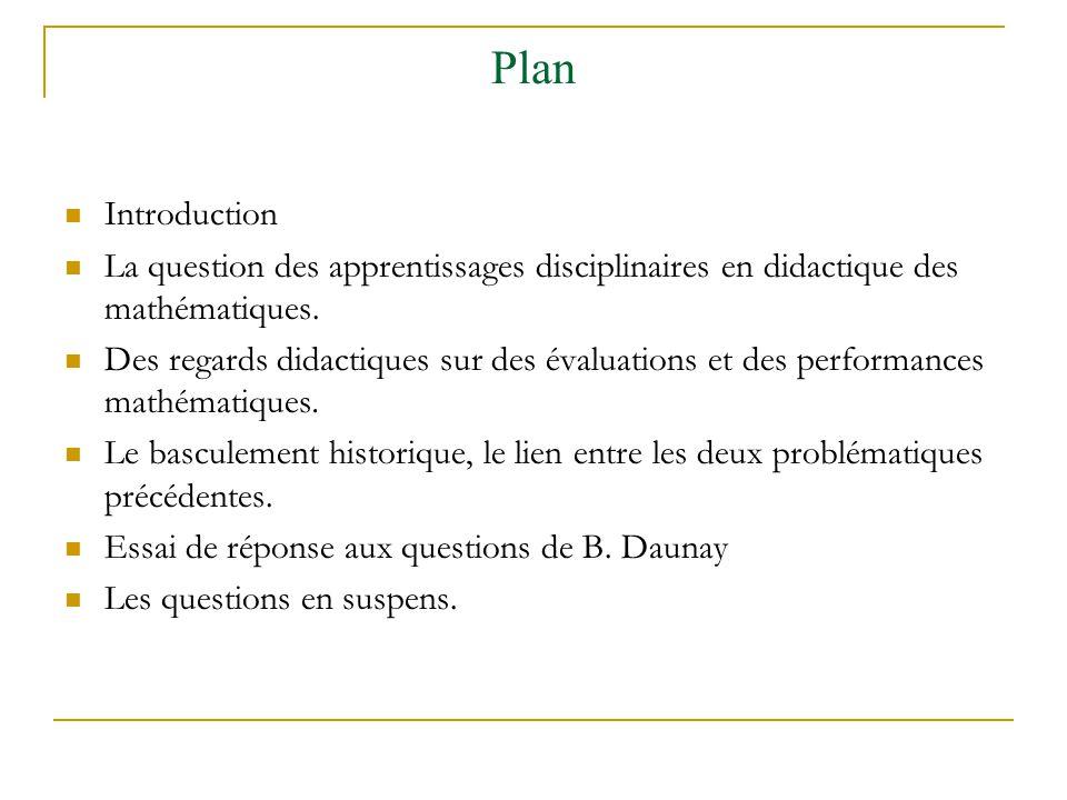 Des éléments de discussion: lexplicitation de B Daunay En fait, je cherchais à éviter de définir performance comme une suite d actions ou de productions , fût-elle reconstituée par le chercheur, pour inclure dans performance ce qui n est pas de l ordre de l action ou de la production: un rapport à, une compétence, par exemple, sont des performances dans mon sens et c est la mesure qui est l action ou la production...