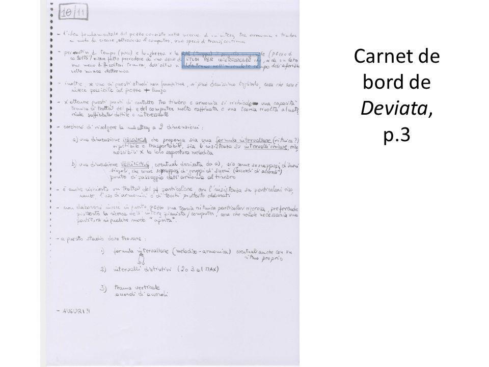 Carnet de bord de Deviata, p.3