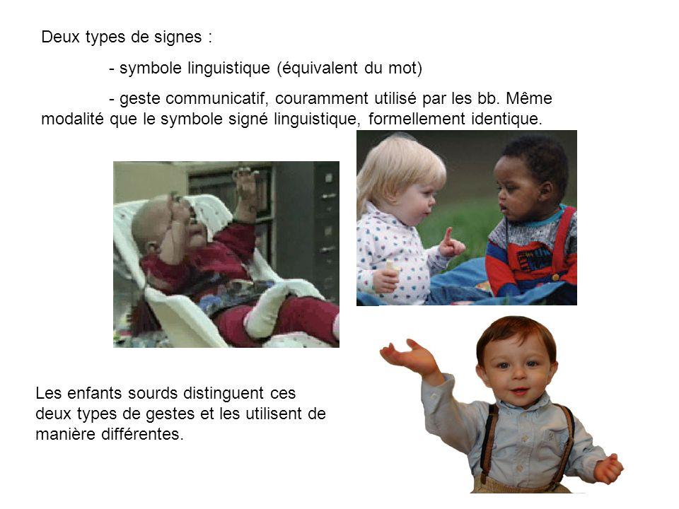 Exemples de signes utilisés en LSF A bientôtDonne moi du chocolat, stp Sibavarder