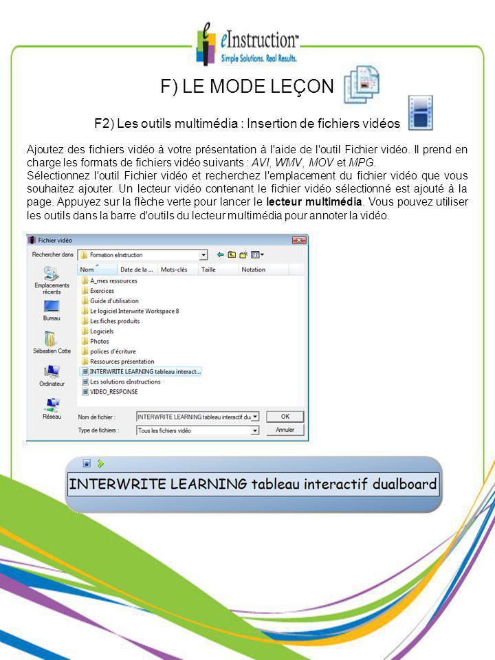Ajoutez des fichiers vidéo à votre présentation à l aide de l outil Fichier vidéo.