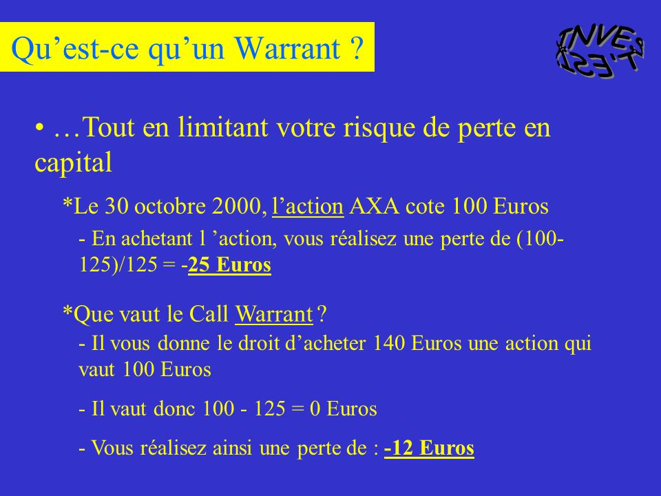 Quest-ce quun Warrant .