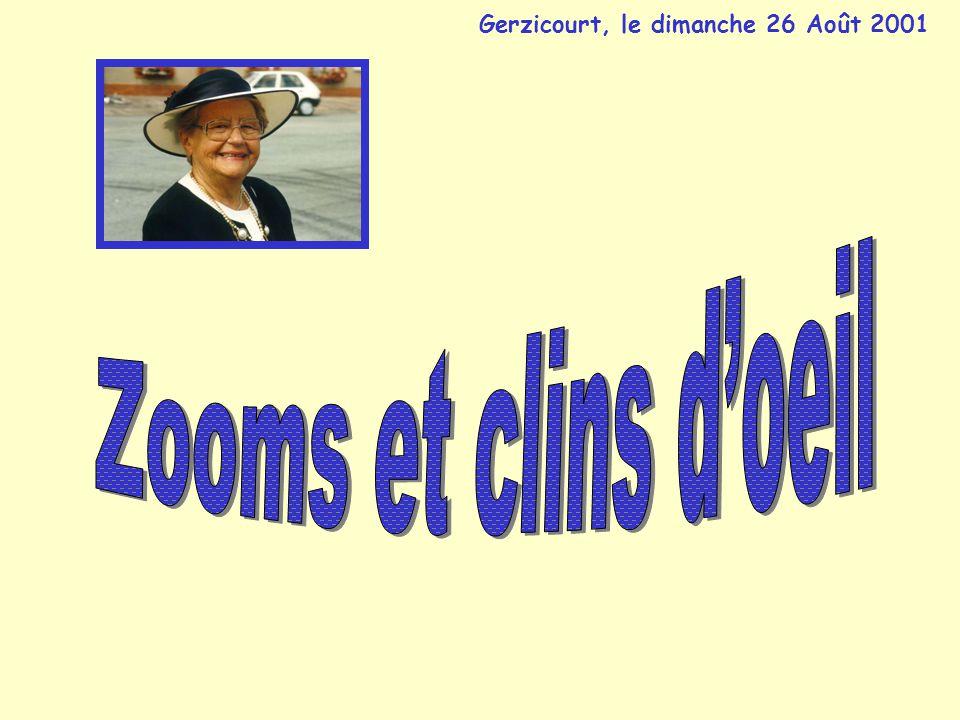 Gerzicourt, le dimanche 26 Août 2001
