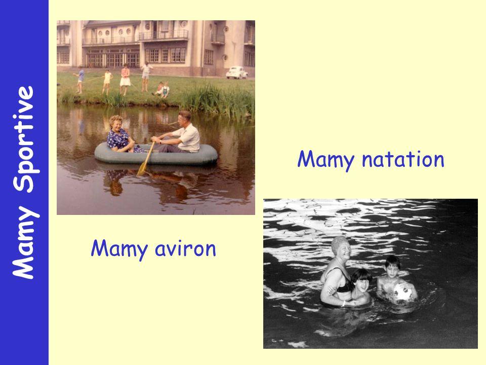 Mamy Sportive Mamy aviron Mamy natation